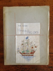 home ec notebook
