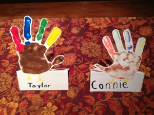 Turkey place cards